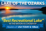 best recreational lake in the nation lake-of-the-ozarks